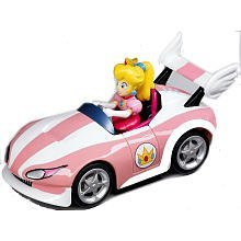 Mario Kart Wii Pull Back Action ~Wild Wing Peach 19306 - 1