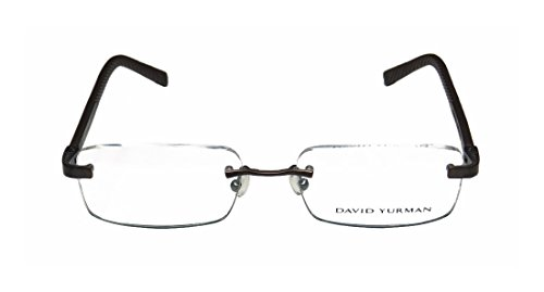 david-yurman-639a-mens-womens-designer-rimless-eyeglasses-glasses