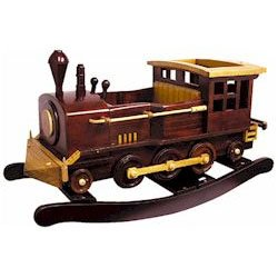 Wooden Rocking Train - Buy Wooden Rocking Train - Purchase Wooden Rocking Train (Charm, Toys & Games,Categories,Bikes Skates & Ride-Ons,Ride-On Toys,All Ride-On Toys)