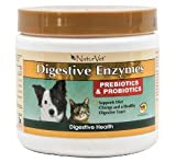 NaturVet Digestive Enzymes with Prebiotics & Probiotics - 4 oz