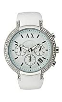 Armani Exchange White Out Ladies Watch 5062