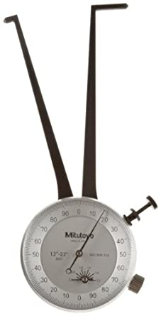Mitutoyo 209 Series Dial Calipers, Inch, for Inside Measurements