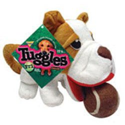 Booda Tuggles Bulldog 3 in 1 Dog Chew Toy