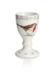 Winter Robin Egg Cup