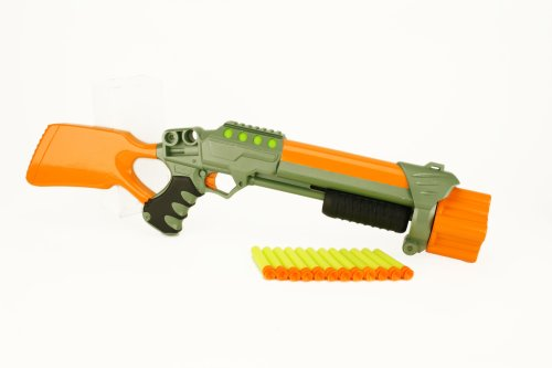 Lanard Nerf Shotgun with 12 Darts