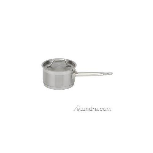 Royal Industries Sauce Pan with Lid, Stainless Steel, 2 qt, 6.3