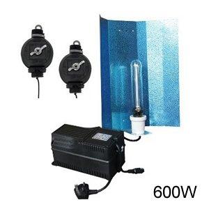 Zenteq Groteq 600W Grow Light Kit With Powerteq Ballast And Dual Spectrum Lamp