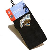 Jacksonville Jaguars Embroidered Tri-Fold Golf Towel