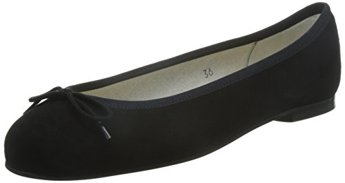 French Sole - Ballerine, Donna, Nero (Black), 37 (4 uk)