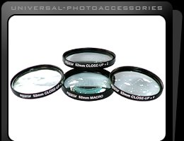 UNIVERSAL 58mm Close up Lens Filter Kit for Canon EOS,EF 18 55,55 250