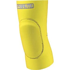 Buy Brute Nylon Sorbothane Wrestling Knee Pad - SIZE: Small, COLOR: Light Gold by Brute