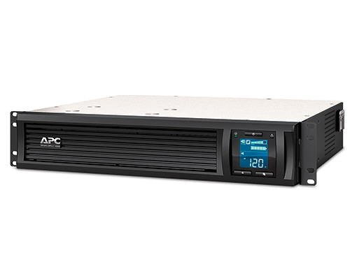 APC SMC1000-2U Smart-UPS 1000VA 600-Watt 120-Volt 2U RM LCD USB with Uninterrupted Power Supply
