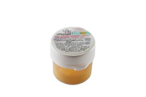 Silikomart 73.273.99.0001 Colorant Alimentaire Liposoluble Jaune