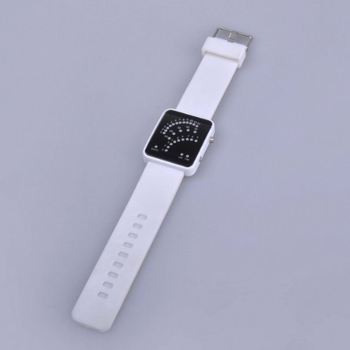 Bestdealusa White Sports Styles Led Digital Wrist Watches