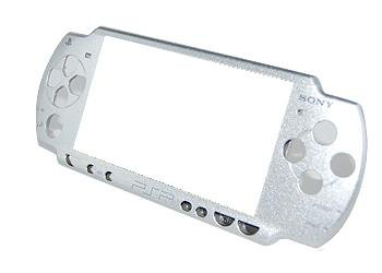 Silver Sony PSP 2000 Faceplate