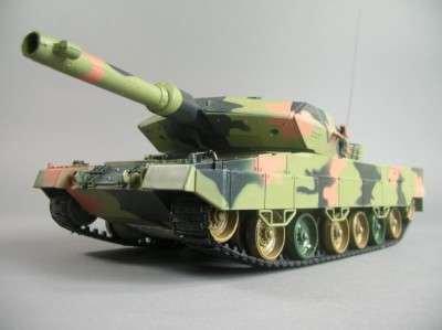 Panzer-HL-LEOPARD-II-A5-M-124-RC-PANZER-mit-Schussfunktion-und-Licht-NEUE-VERSION-Modellbau-Kettenfahrzeug-Panzer-Massstab-124-Mit-Munition-und-Power-Motor