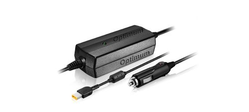 Optimum Car Charger for Lenovo ADLX65NDC2A, ADLX65NDC3A, ADLX65NLC3A, ADLX65NCC3A, ADLX65NLC2A, ADLX65NCC2A 45N0254, 45N0256, 45N0258, 45N0260, 45N0262, 45N0264, 45N0326, 45N0328 Power Supply Cord Notebook Battery Charger