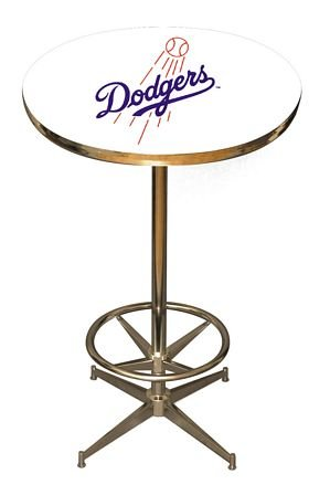 MLB Team Pub Table Style: Los Angeles Dodgers at Amazon.com