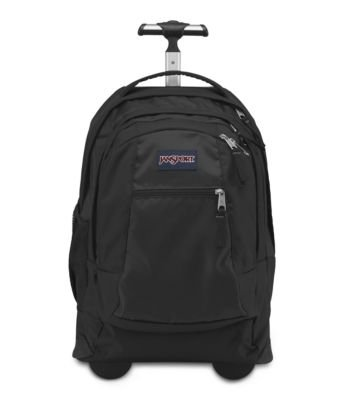 Jansport Driver 8 Core Series Wheeled Backpack(Black) front-201635