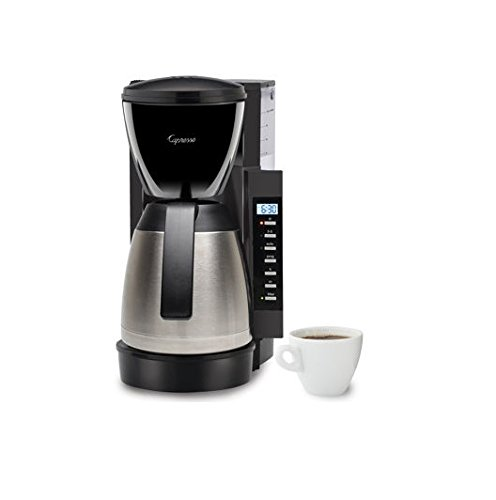 Capresso Coffee Maker 475.05: 10 Cups of Piping Hot Freshness