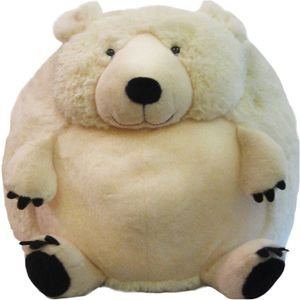 "Mini Squishable Polar Bear 7"" Plush Toy"
