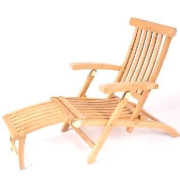 Siena Garden 739730 Deckchair Dorset, Teakholz mehrfach verstellbar, L 120 x B 51 x H 99 cm günstig
