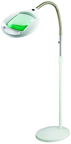 Brightech - LightView PRO SuperBright Magnifier Floor Lamp with 60 LED's