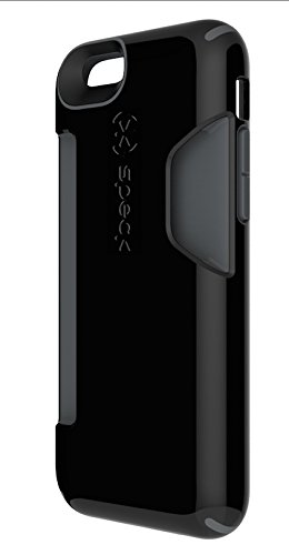 Speck Products SPK-A3118 CandyShell Card Case for iPhone 6 - Black/Slate Grey