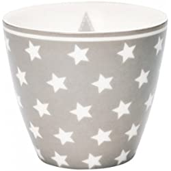 Greengate Star Latte Cup One Size warm_grey