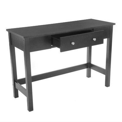Cheap Bay Shore Collection Sofa/Console Table with Full Wood Top and Drawer, Black (F68344-01)
