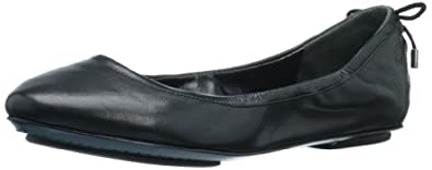 Maria Sharapova Collection by Cole Haan Women's Air Bacara  Flat  Flat,Black Nappa,5 M US