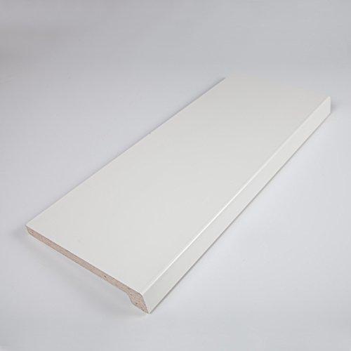 hochwertige fensterbank werzalitfensterbank 500 x 150 mm in wei. Black Bedroom Furniture Sets. Home Design Ideas