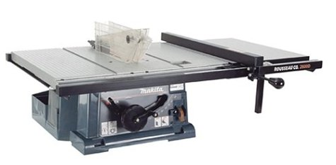 Rousseau 2600 PortaMax Jr. Table Saw Table Top and Fence System