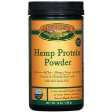 Manitoba Harvest Hemp Protein Powder, 16 Ounce -- 3 Per Case.