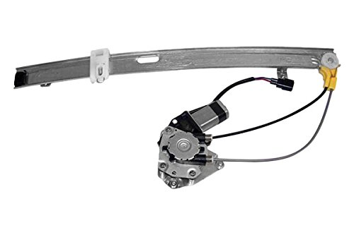 APDTY 111423 Window Motor & Regulator Assembly Rear Right Passenger-Side Upgraded Cable Style Fits 2002-2006* Jeep Liberty (2006* Models Manufacture