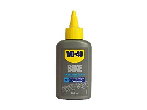 WD-40 39777 Bici Lubrificante Catena per Condizioni Umide, 100 ml
