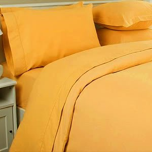 Amazon.com: Yellow - Sheets & Pillowcases / Bedding: Bedding & Bath