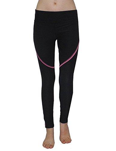 bally-total-fitness-damen-pantalon-de-sport-professionnelles-leggings-yoga-xl-noir