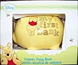 Disney Pooh Ceramic My First Bank, Yellow