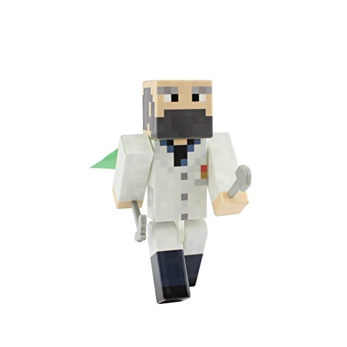 """Doctor - 4"""" Action Figure Toy, Plastic Craft by EnderToys"""