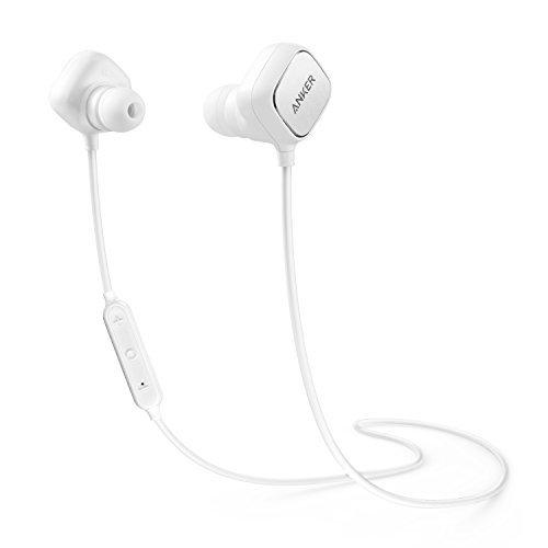 Anker SoundBuds Sport IE20 (スマートマグネット搭載 Bluetooth イヤホン) 【aptX対応 / CVC 6.0ノイズキャンセル / 内蔵マイク搭載】 iPhone、Android各種対応 ホワイト A3230021