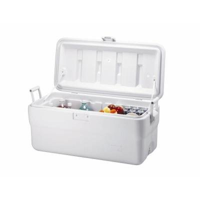 Rubbermaid 102 qt. Marine Chest Cooler Stain and Odor Resistant, Easy-To-Clean Liner (Travel Cooler Rubbermaid compare prices)