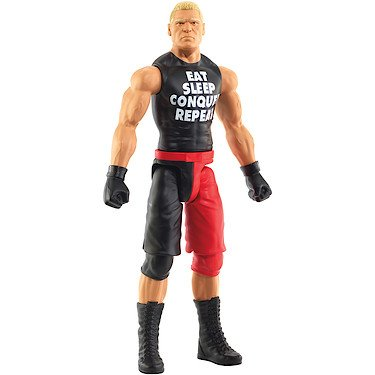 WWE – Brock Lesnar T-Shirt Noir – Figurine Articulée 30 cm