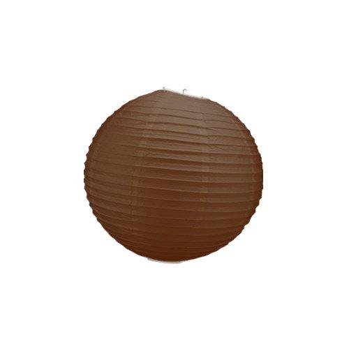 Skylantern-Original-1461-Lanterne-Boule-Papier-Chocolat-30-cm