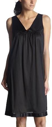 (超值)Vanity Fair Womens Colortura Short Gown黑色宽吊带孕妇裙$14.66