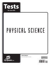 Physical Science Test Grd 9 (Bju Press 5th compare prices)