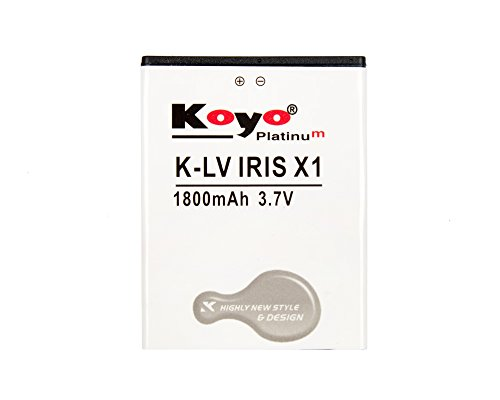 Koyo 1800mAh Battery (For LAVA IRIS X1)