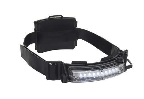 Foxfury 410-009S Command 10 Tasker S Led Helmet Light With Silicone And Elastic Strap, 40 Lumens