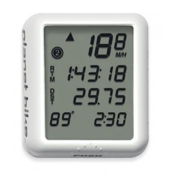 Planet Bike Protege 9.0 9-Function Bike Computer With 4-Line Display And Temperature back-784727