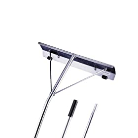 Garelick 89416 16-Foot Aluminum Snow Roof Rake With 7-Inch by 24-Inch Blade